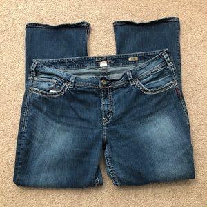 Silver Jeans Suki Bootcut - Plus Size